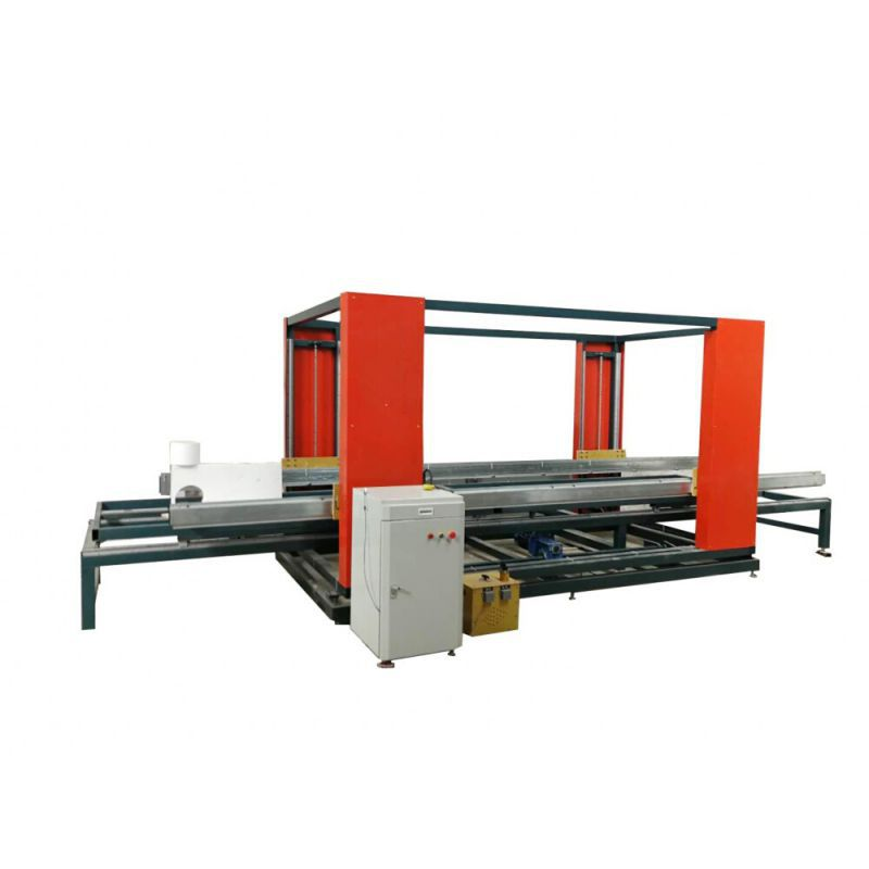 Oscillating hot wire cnc cutting machine for styrofoam architectural mouldings